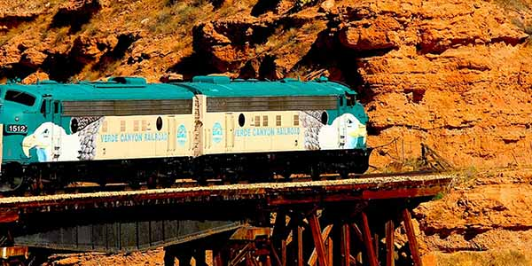 Verde Valley Railroad & real estate