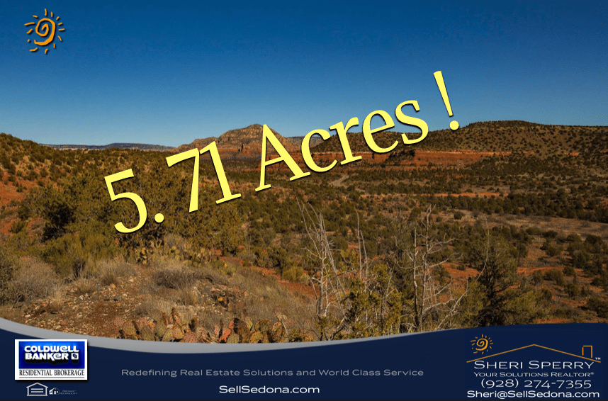 red rock view acreage - land for sale - 31 Cascade Sedona AZ 86336 land & lots for sale