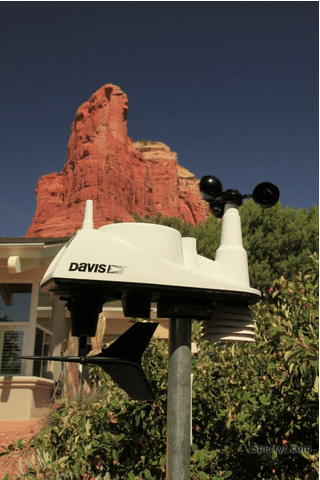 record heat sedona weather station