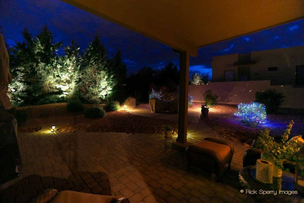 West Sedona magical outdoor lighting