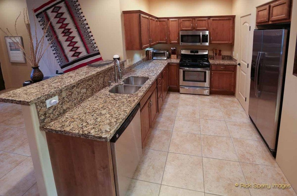 Efficient West Sedona Kitchen