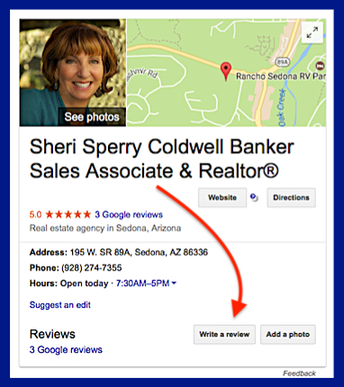 Sheri Sperry Experienced Sedona Realtor