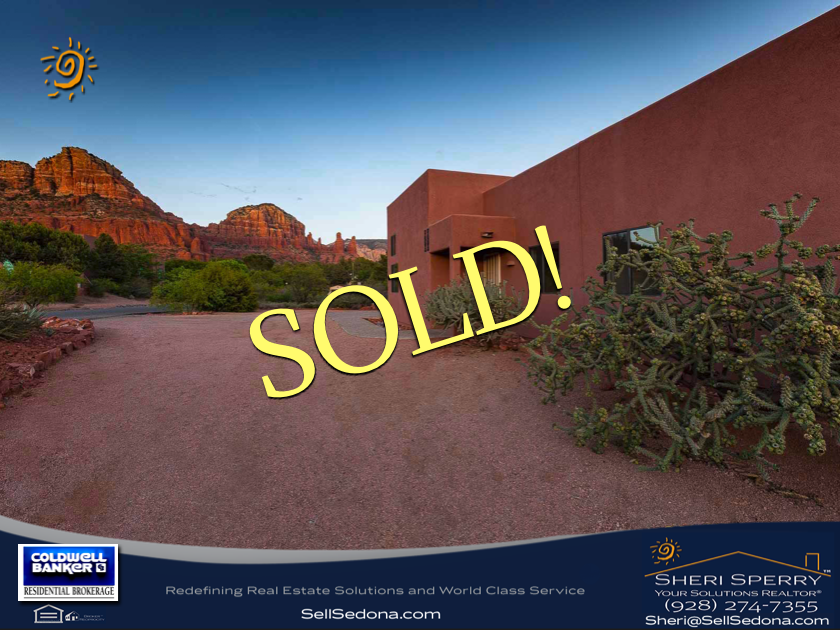 Get your Sedona Listing SOLD! Sheri Sperry - Sedona Sellers and Listings
