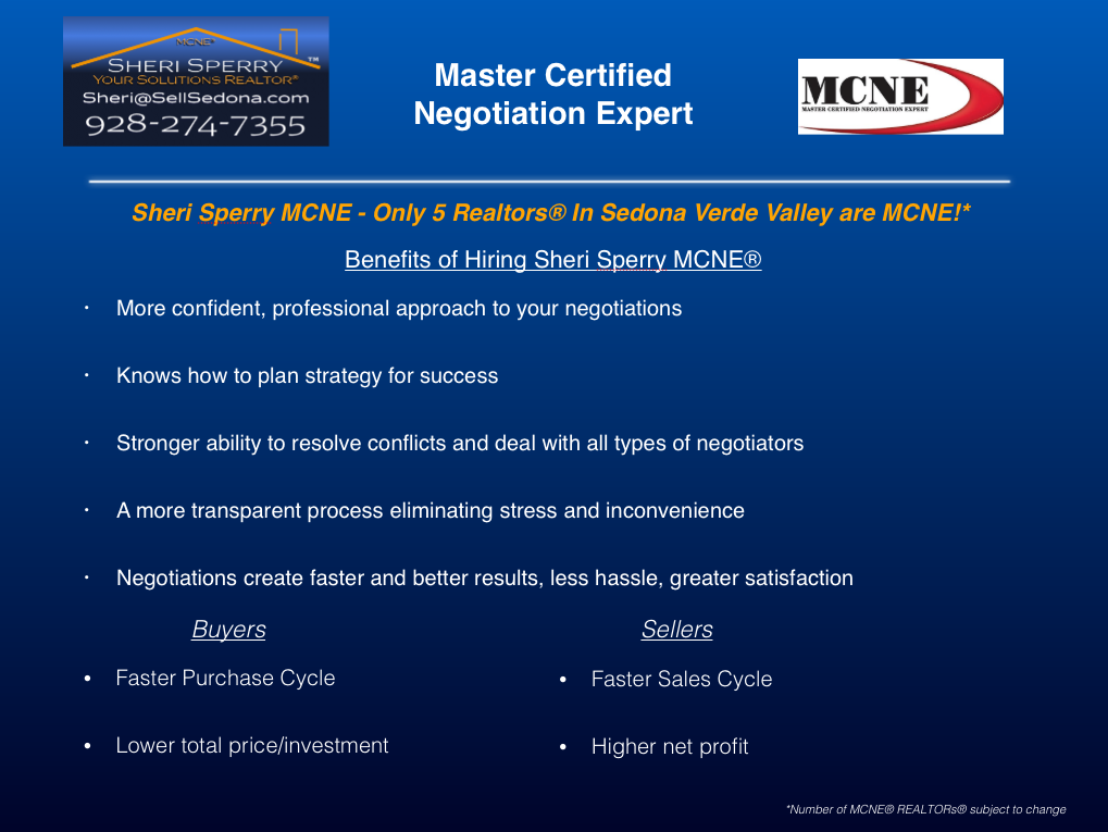 Master Certified Negotiation Expert