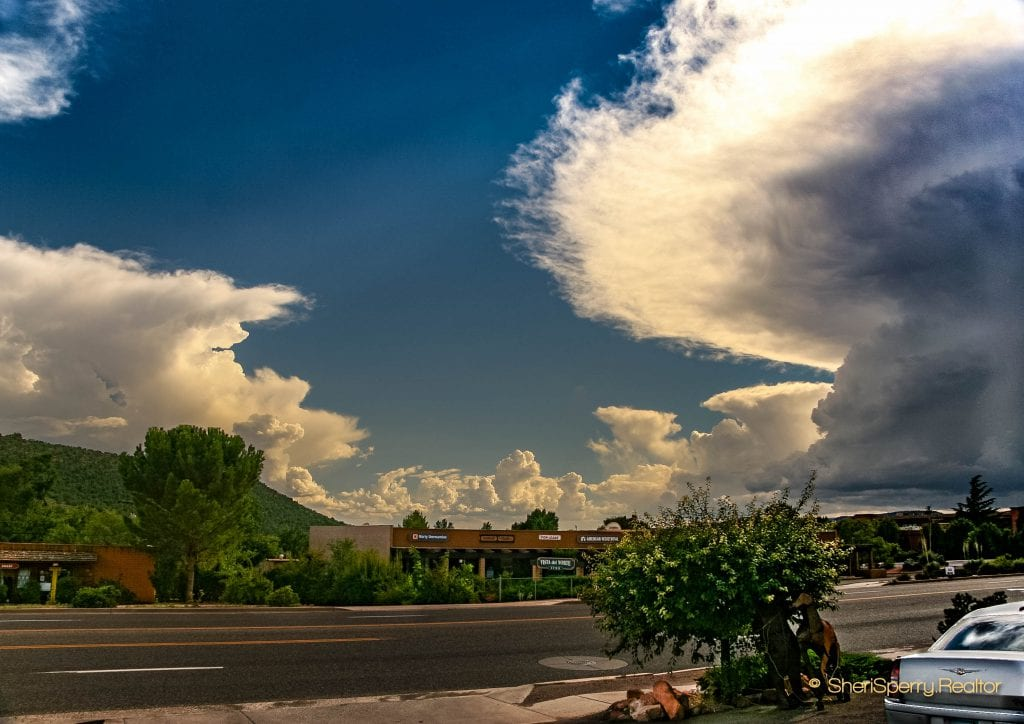 Monsoon Thunderstorm - Sedona nomes for sale