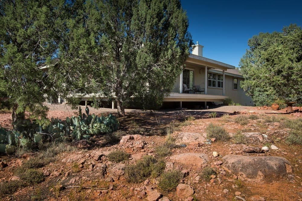 Sedona homes for sale with covered deck