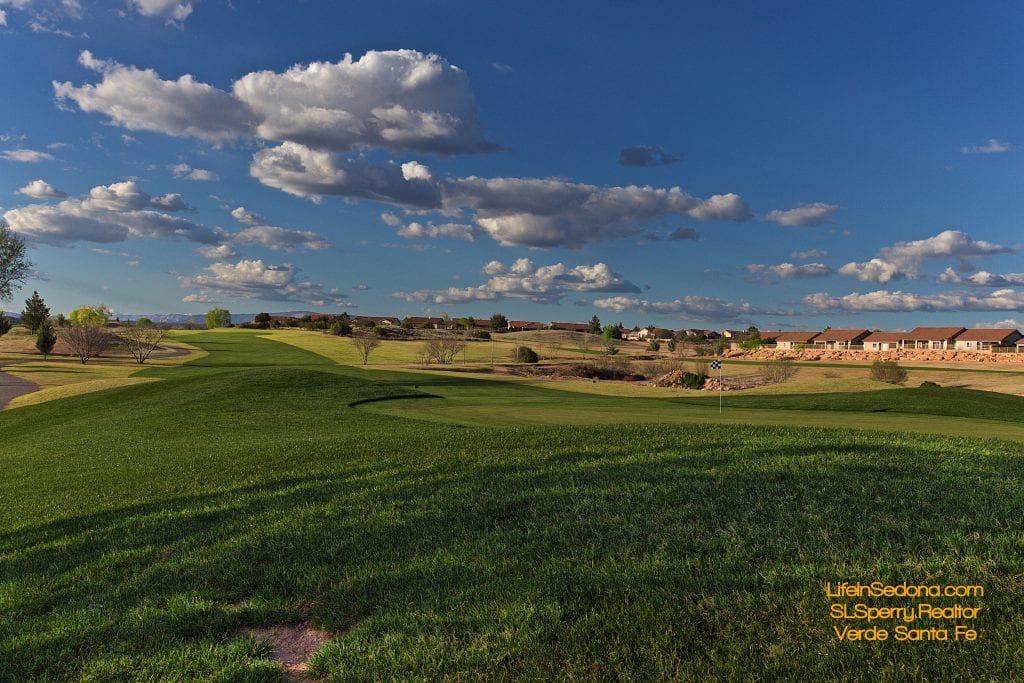 Verde Santa Fe Golf Course Homes For Sale