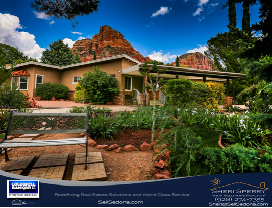 Sellers list Sedona home with Sheri Sperry Coldwell Banker