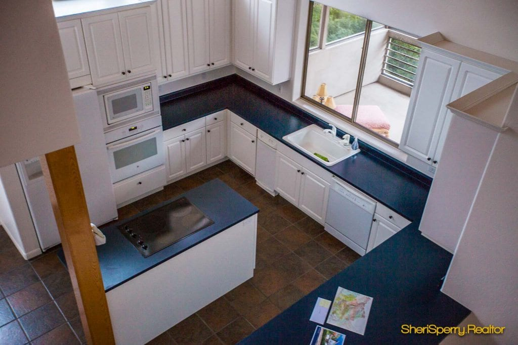 Open floor plan kitchens Sedona