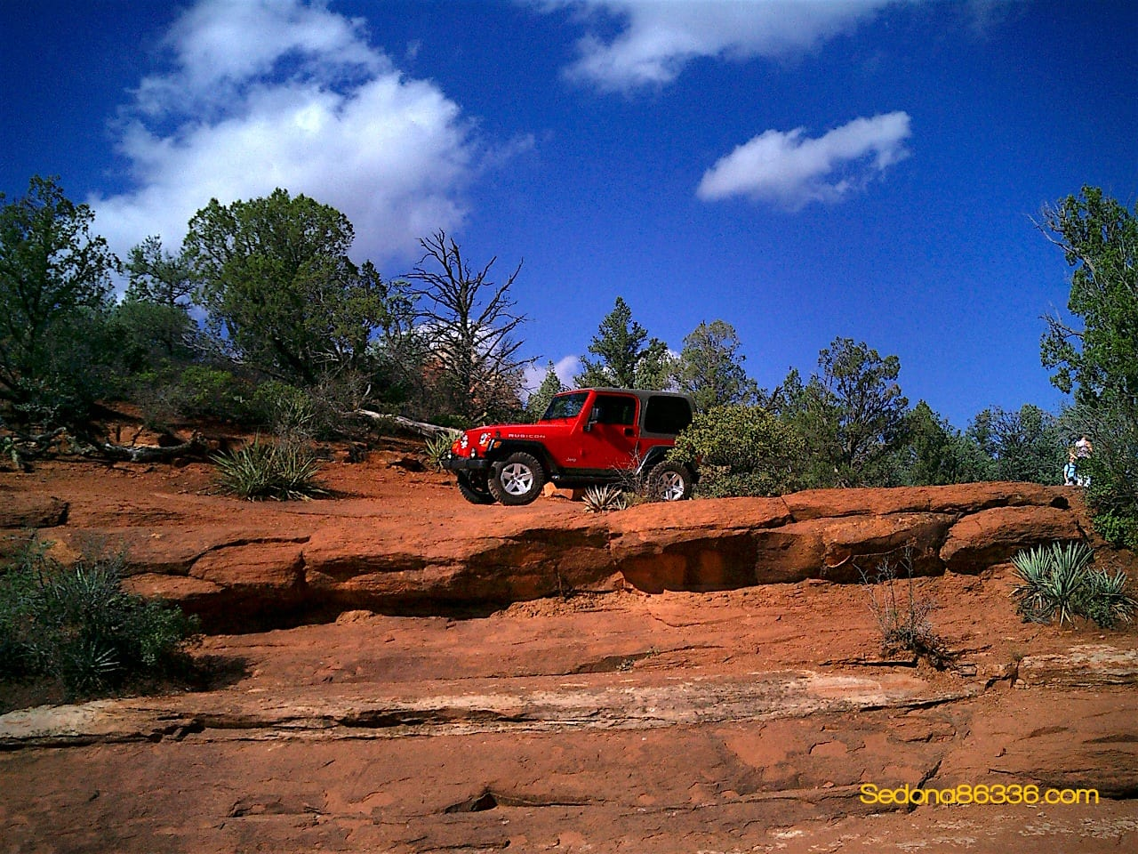 Soldiers Pass Trail   Red Rocks Jeep