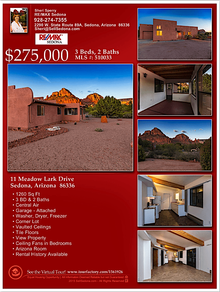 11 Meadow Lark Dr Sedona - For sale