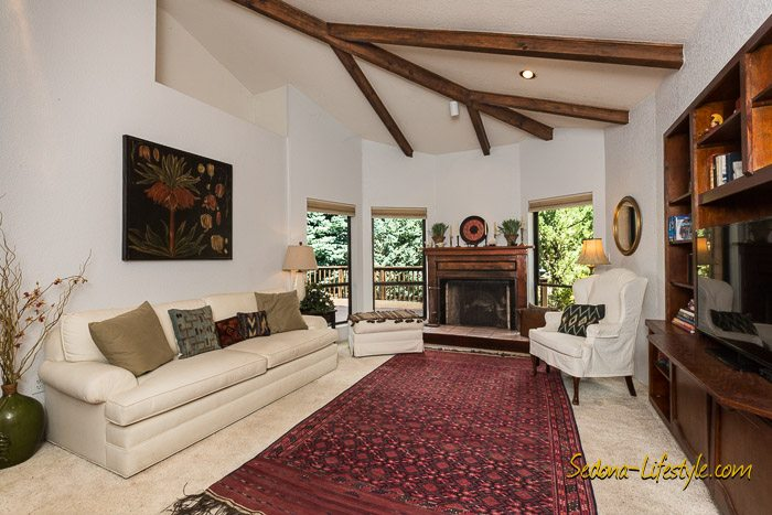 West Sedona Red Rock View home for sale