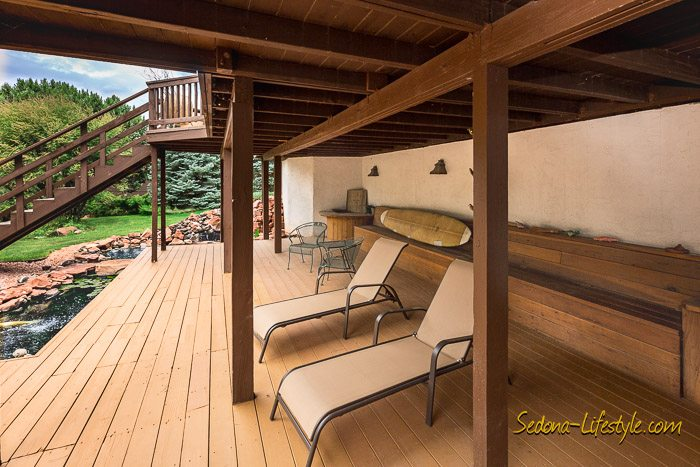 West Sedona homes with covered decks
