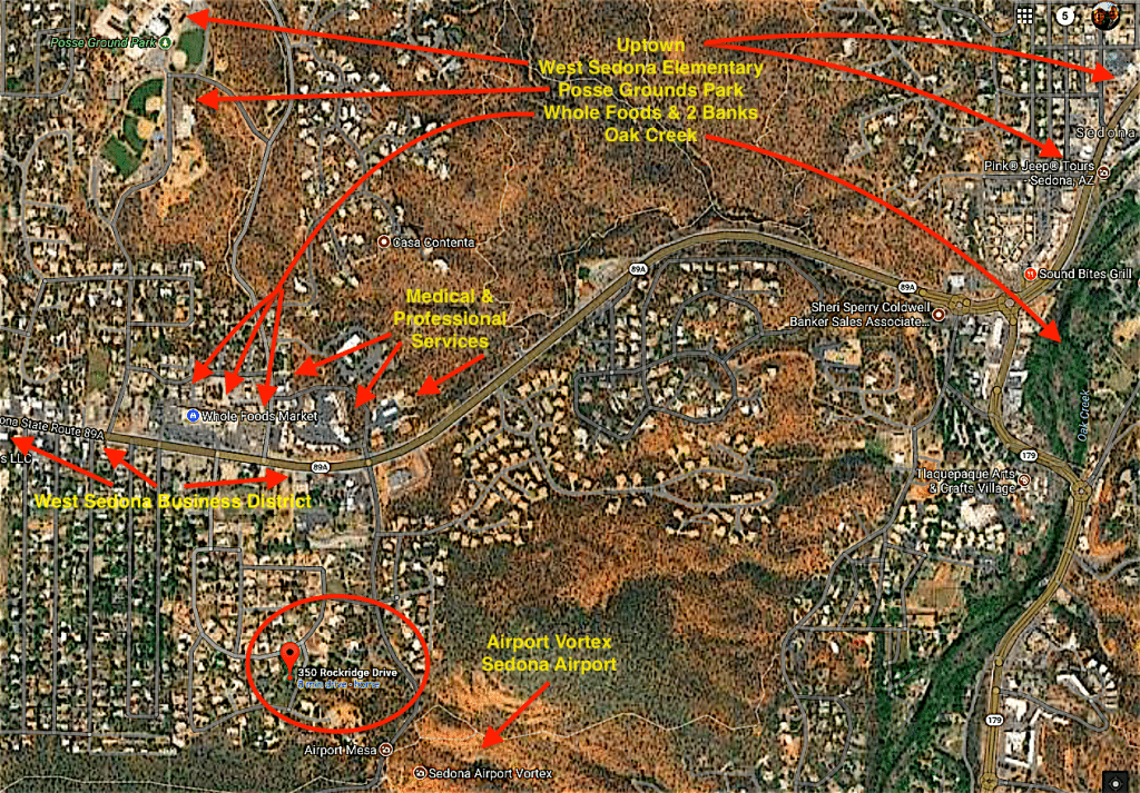 Centrally located West Sedona homes