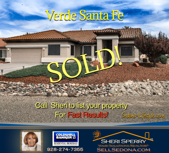 SOLD - Verde Santa Fe Cornville AZ Call Sheri Sperry SellSedona.com results