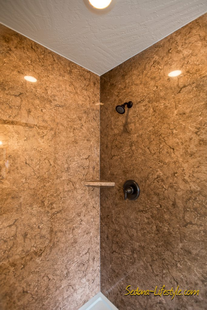 custom shower in Sedona