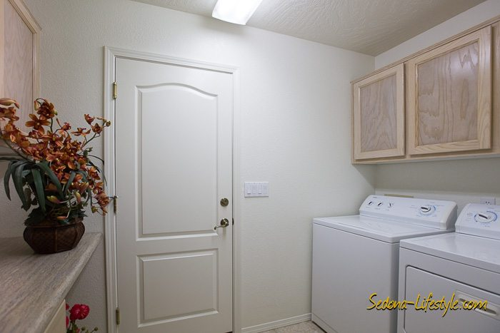 Sedona laundry room chapel area