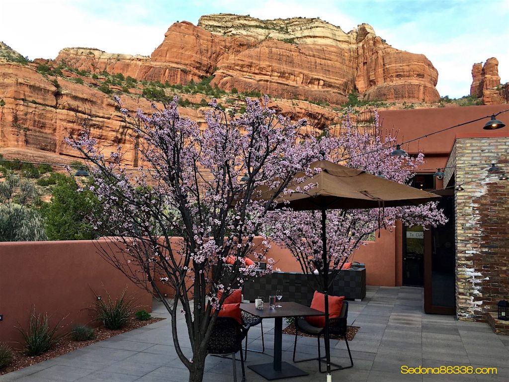 Sedona weather spring