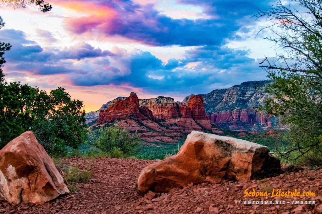 Sedona weather - summer monsoon
