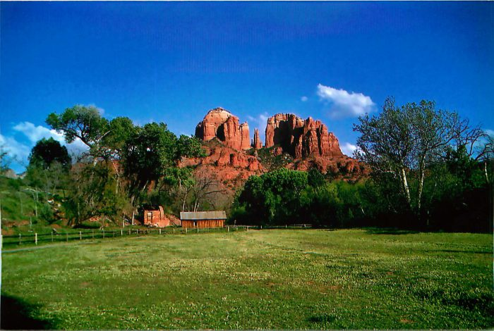 Blink and it's gone….A Spring Snapshot of Crescent Moon Ranch – Sedona
