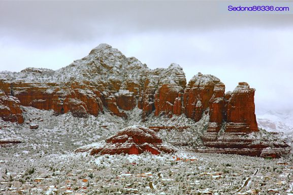 Winter Splendor of Sedona – A January Snowfall Video
