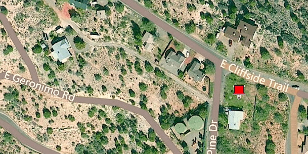 Aerial-Lot for Sale Rimrock