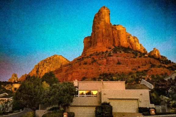 Phenomenal Friday Sedona Sunrise – Morning Glow – Cottages At Coffeepot –
