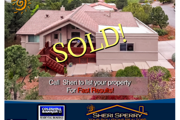 Want Results? Another Home SOLD in West Sedona AZ 86336 – May 2017