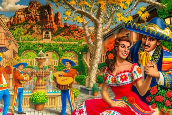 Enjoy the Cinco de Mayo Celebration at Tlaquepaque Sedona