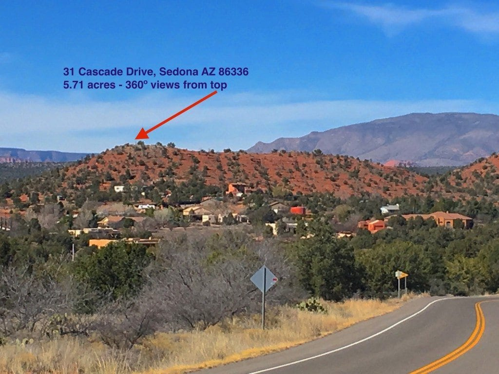 Sedona land for sale