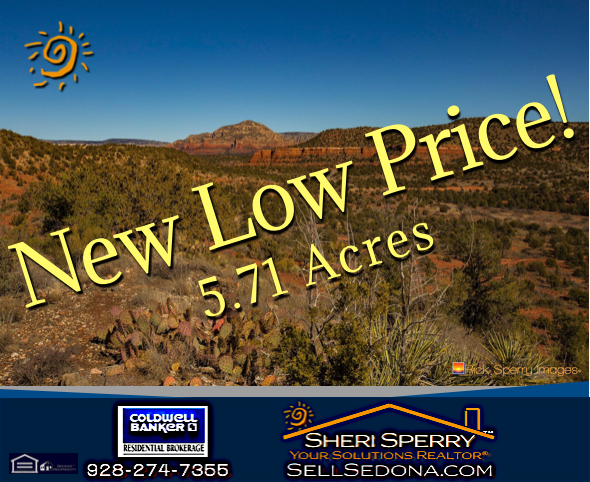 red rock view acreage - land for sale - 31 Cascade Sedona AZ 86336