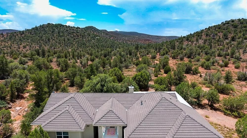 Sedona Homes that border forest