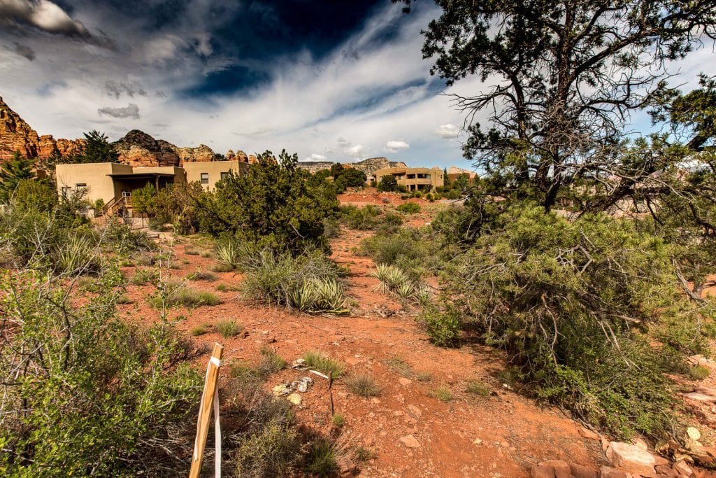 Cul-de-sac lot for sale - with red rock views