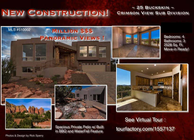 New Construction Sedona Homes for sale 25 Buckskin Ln AZ 86336