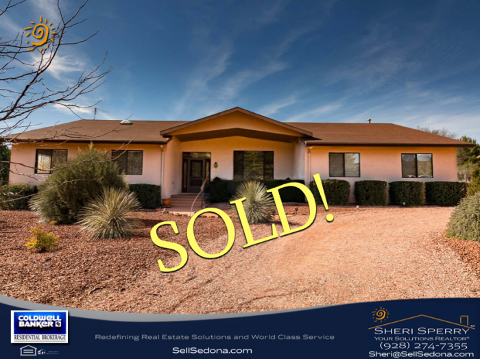 Sheri Sperry sells sedona homes fast!