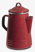Campfire coffeepot