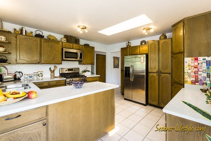 Sedona homes for sale with large chef kitchens