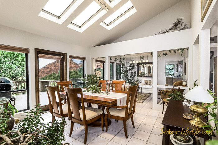 West Sedona home for sale with red rock views