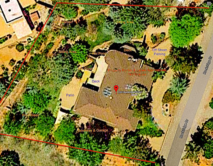 Aerial Views of West Sedona homes