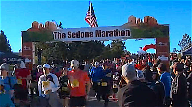 Sedona Marathon 2018 Countdown to the race on February 3, 2018