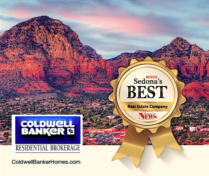 Coldwell Banker Residential Brokerage Voted Sedona's Best Real Estate Company