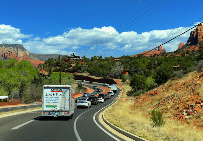 Sedona Traffic Congestion