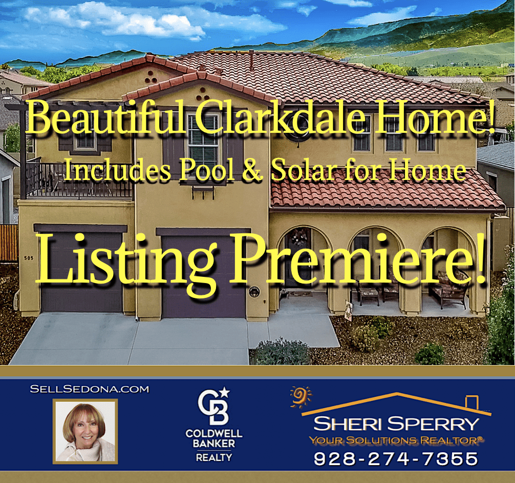 New Listing 505 Miners Gulch Clarkdale AZ by Sheri Sperry Coldwell Banker Realty