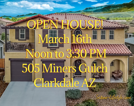 Open House - 505 Miners Gulch Clarkdale - Sheri Sperry Coldwell Banker Sedona