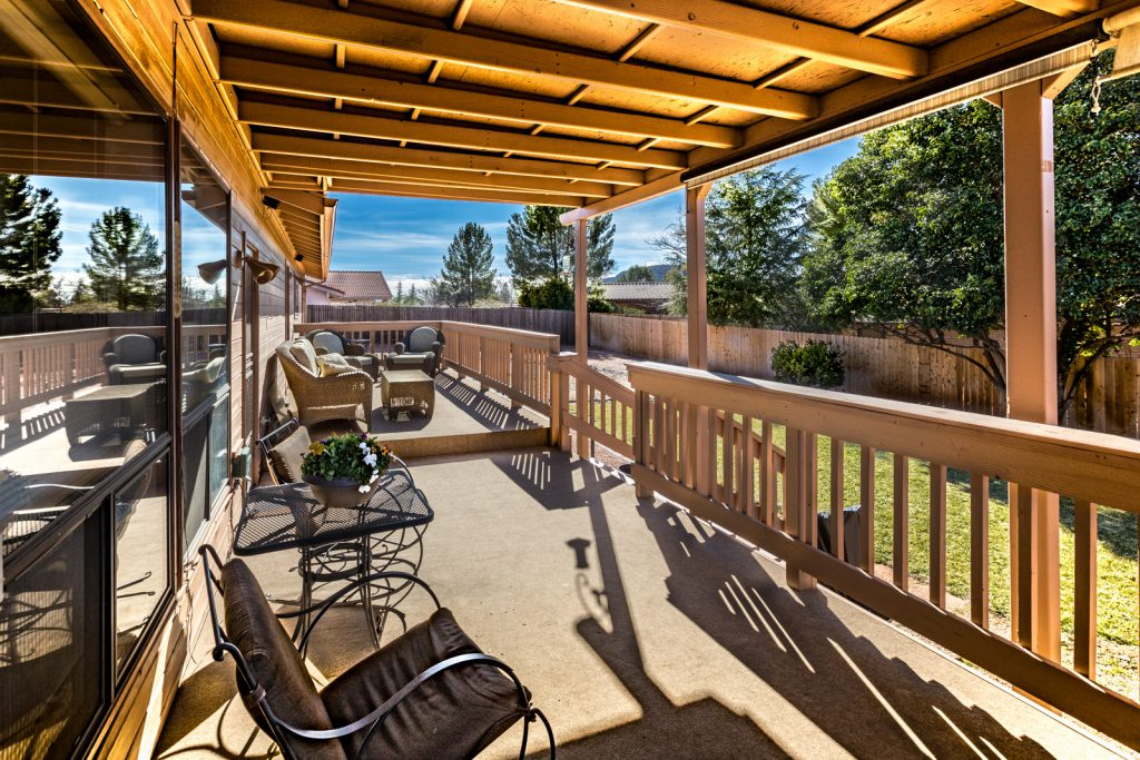 Homes with back decks