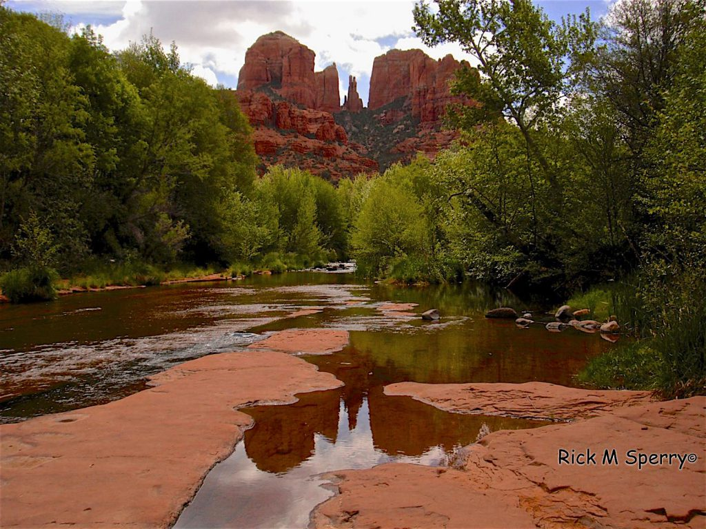 cathedral red rock crossing swimming hole
