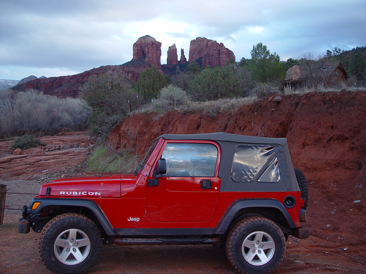 Celebrate Rock Climbing and 4 x 4 Day in the Red Rocks of Sedona AZ…. Off Road!