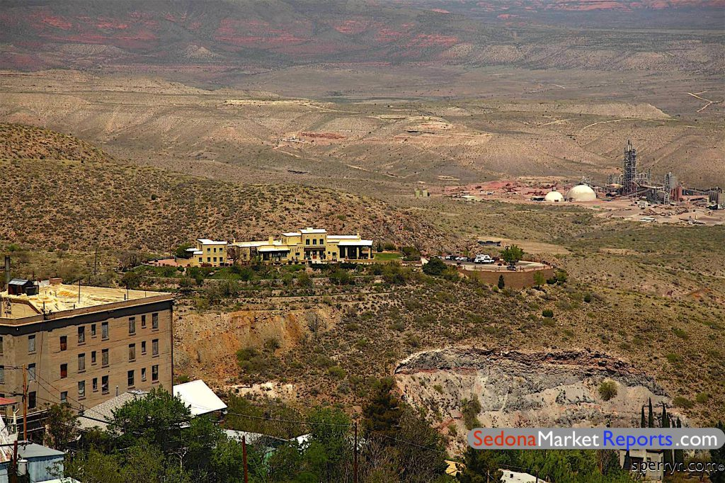Looking Toward Smelter in Clarkdale homes for sale 2019