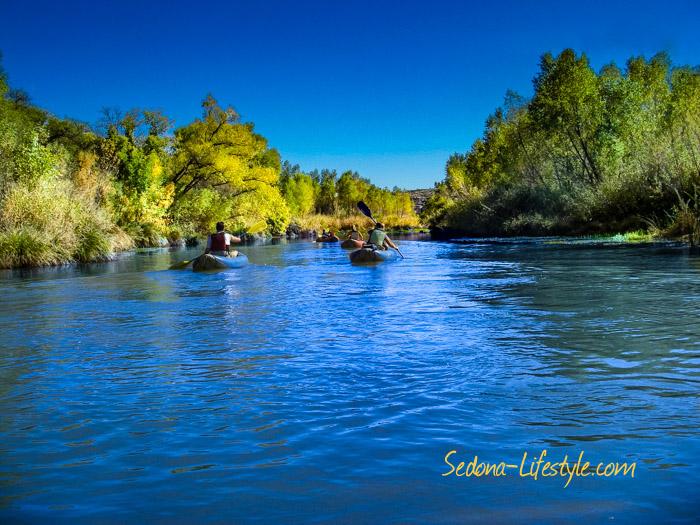 Verde Valley River Kayaking