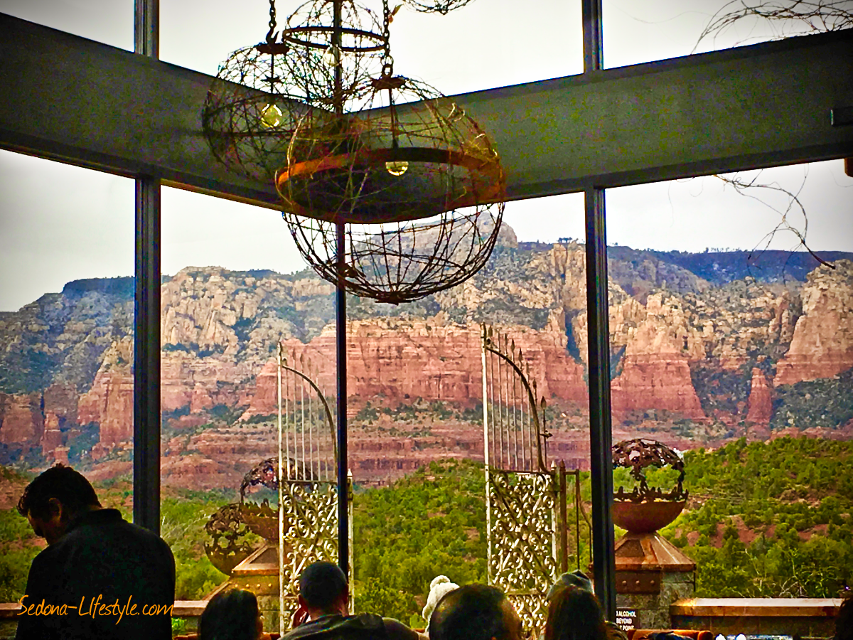 Sedona's Mariposa Restaurant – One of America's Most Scenic – See Why!
